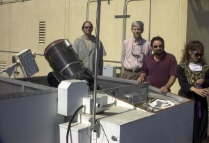 Remote Access Telescope (part of RAAT)  at UCSB